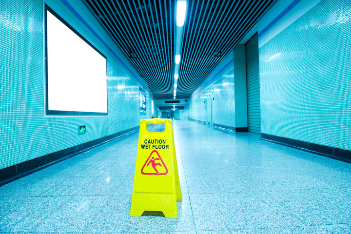 slip and fall accidents on business property