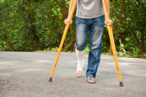 americans with disabilities act crutches
