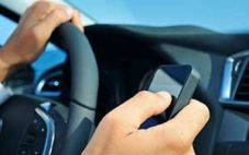 Driver disobeying virginia cell phone driving laws