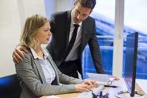 a case of employer harassment or employer discrimination