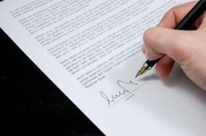 A non-disclosure agreement