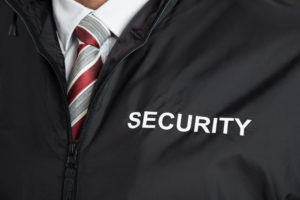 Security officer jacket