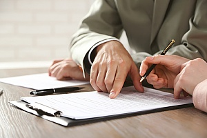 a complaint being submitted by an individual who has experienced an unlawful detainment