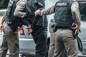 a man going through an unlawful arrest as a result of police excessive force