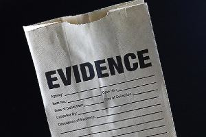 Evidence bag. The sooner after a suspected incident of police brutality that you begin to take action