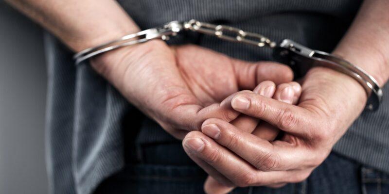 Statute Of Limitation For False Arrest- Man in Handcuffs