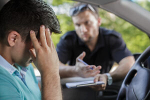 motorist ponders the consequences of an arrest after believing he was stopped under false pretenses
